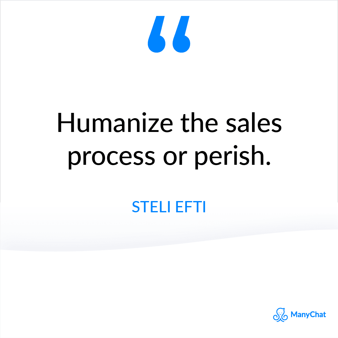 Sales Quote from Steli Efti