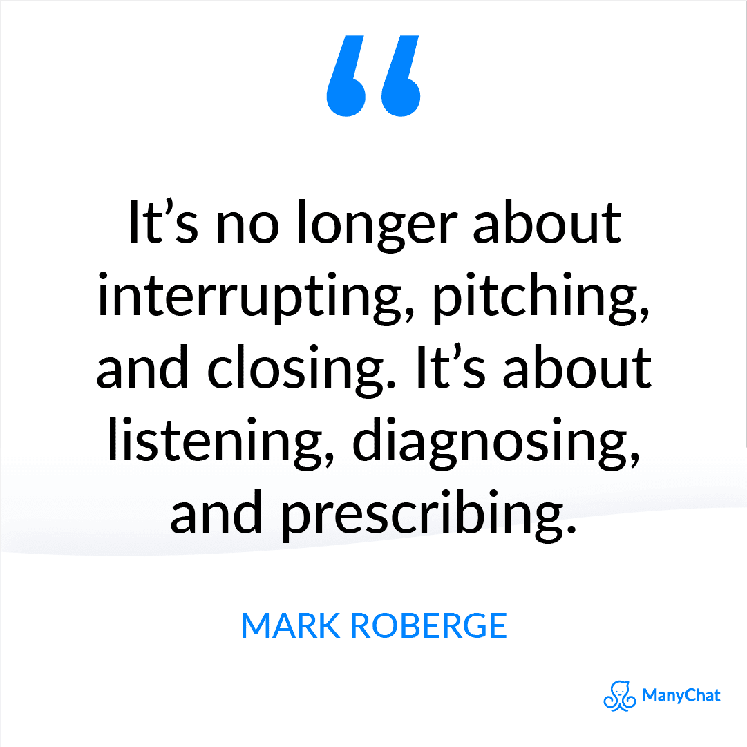 Sales Success Quote from Mark Roberge