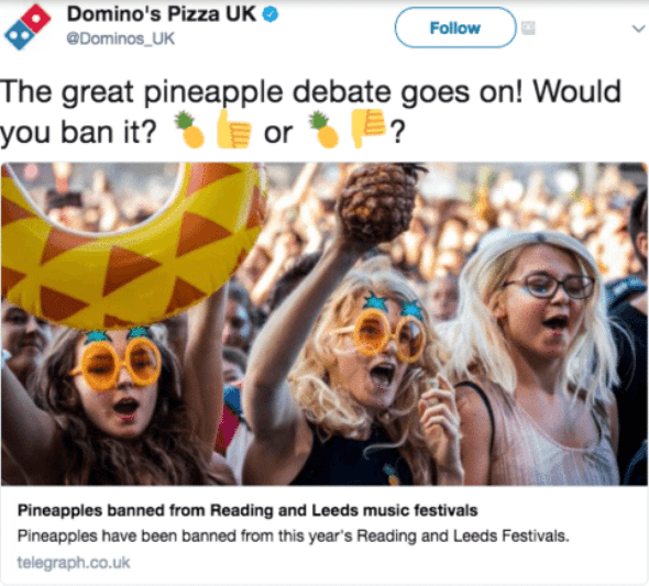 Domino's Pizza UK